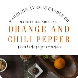 Orange and Chili Pepper by Maddison Avenue Candle Company