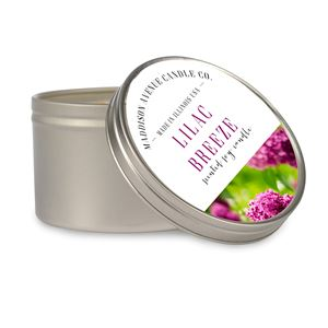 8 oz Travel Tin Soy Candle by Maddison Avenue Candle Company