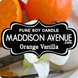 Orange Vanilla by Maddison Avenue Candle Company