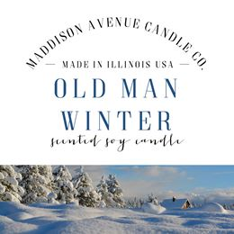 Old Man Winter by Maddison Avenue Candle Company