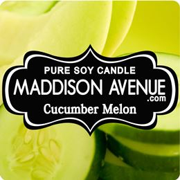 Cucumber Melon by Maddison Avenue Candle Company
