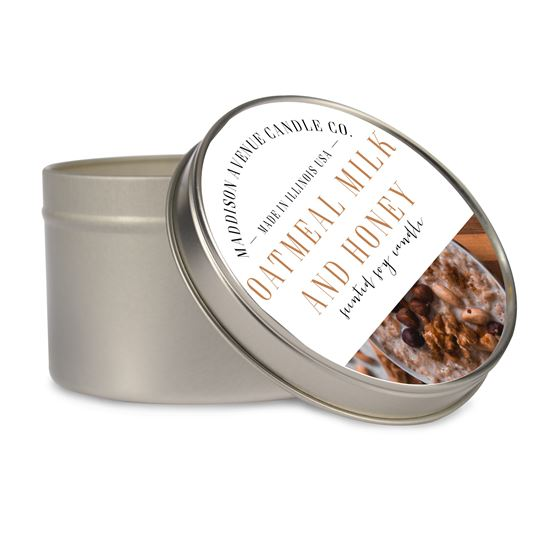 16 oz Tin Soy Candle by Maddison Avenue Candle Company