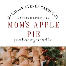 Moms Apple Pie by Maddison Avenue Candle Company