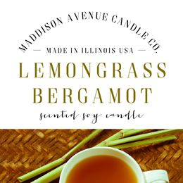 Lemongrass Bergamot  by Maddison Avenue Candle Company