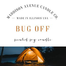 Bug Off by Maddison Avenue Candle Company
