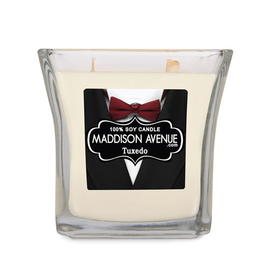 15 oz Square Flare Soy Candle by Maddison Avenue Candle Company