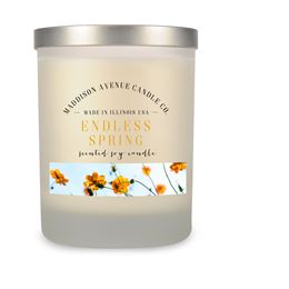14 oz Frost Spa Tumbler Soy Candle by Maddison Avenue Candle Company