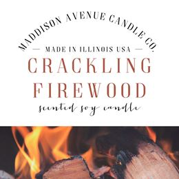 Crackling Firewood by Maddison Avenue Candle Company
