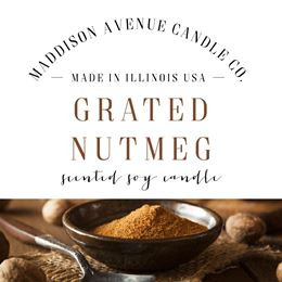 Grated Nutmeg by Maddison Avenue Candle Company