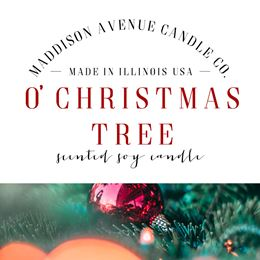 O Christmas Tree by Maddison Avenue Candle Company