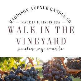 Walk In The Vineyard by Maddison Avenue Candle Company