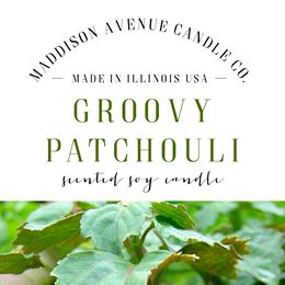 Groovy Patchouli by Maddison Avenue Candle Company