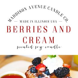 Berries and Cream by Maddison Avenue Candle Company