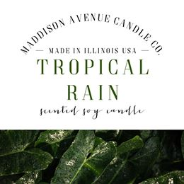 Tropical Rain by Maddison Avenue Candle Company